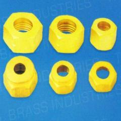 Brass Female Nuts