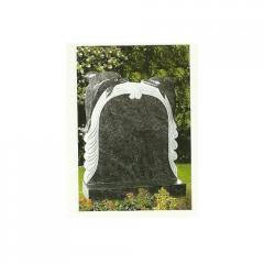 Black Granite Tombstone Monument Gravestone