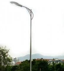 Powered LED Street Lights