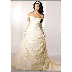Bridal Gown- White Base