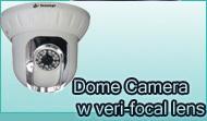 Dome Camera W Veri-Focal Lens