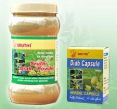 Sruthi Diab Powder & Capsules