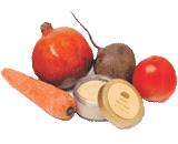 Fresh Fruit Face Massage Cream