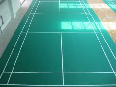 Indoor Badminton Facility