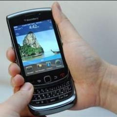 BlackBerry 9800 Torch (White)