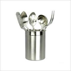Steel kitchen tool holder