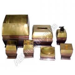 Golden Finish Bathroom Sets