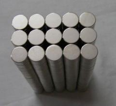 Dics / Button magnets (Size from 2dx1 mm to 50dx1