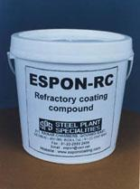 Espon-rc (refractory coating compound )