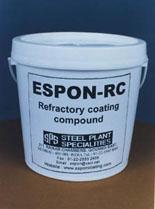 Espon-rc (refractory coating compound )