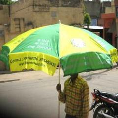 Outdoor Advertising Umbrellas