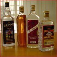 PET Bottles ( Liquor)