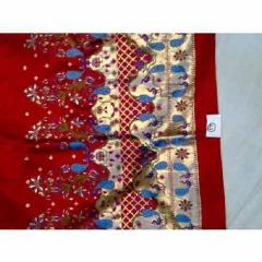 Red Pathani Sarees
