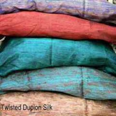 Twisted Dupion Silk