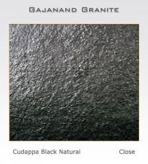 Limestone tiles Cudappa Black Natural, slabs,
