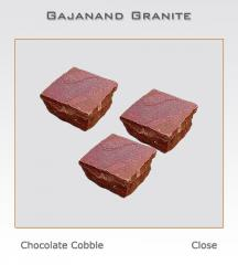 Granite cobbles Chocolate Cobble, sandstone