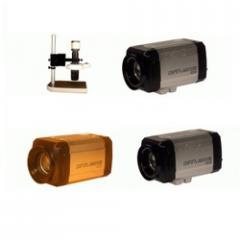 Microscope lens camera