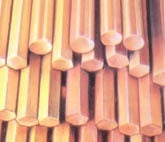 Cast and rolled copper