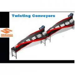 Industrial Twisting Conveyor