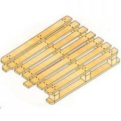 Four Way Double Deck Non Reversible Euro Pallets