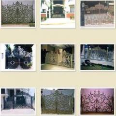 Cast Iron Main Gates