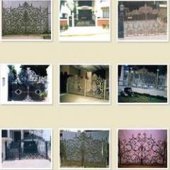 Cast Iron Main Gates