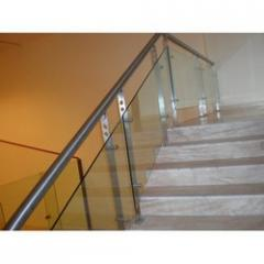 Stainless Steel Glass Panel Railing