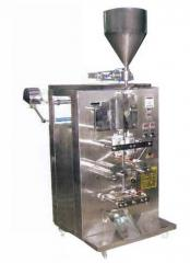 Viscous Pouch Filling Machine