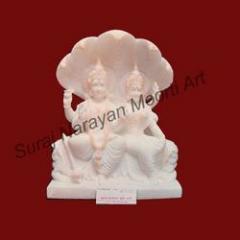 Lakshmi Narayan Marble Statues