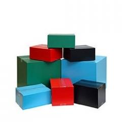 Multi Coloured Corrugated Boxes