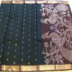 Kora Silk With Jari Work Sarees