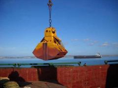 Iron hydraulic grabs