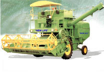 Self Propelled Combined Harvester