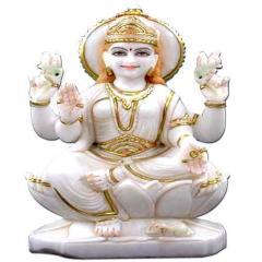Marble Statue Of Laxmi