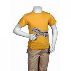 Mens Half Sleeves Round Neck T-Shirt