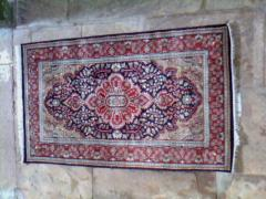 Hand knotted carpets art silk carpets