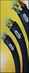 Sabar 3 core PVC insulated cable for submersible