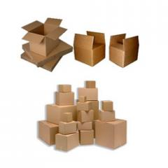 Corrugated boxed
