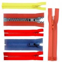 Plastic Zippers