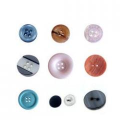 Plastic Round Buttons