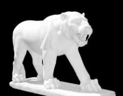 Marble animal statues - Tiger