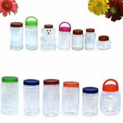 Pet Plastic Tea / Coffee Beverage Containers