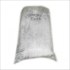 Wiping Charcoal Powders
