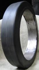 Press on Band Solid Rubber Tyre