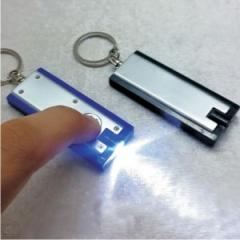 Key ring with torch