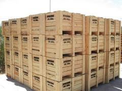 ISPM 15 Treated Wooden Box