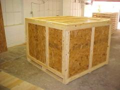 ISPM15 Treated Wooden Crates