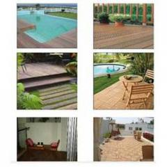 Natural Wooden Decking And Cladding