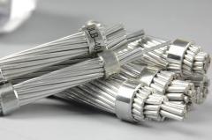 Steel-aluminum wire