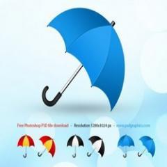 Single -Folded Umbrella
